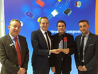SORELEC wins Kingbright Bronze Award for LED sales growth in France