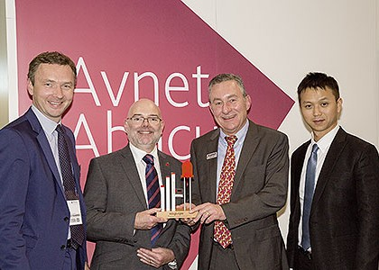 KINGBRIGHT rewards AVNET ABACUS for outstanding sales success in 2013